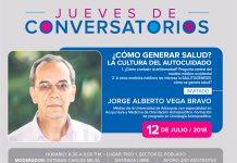 Conversatorio con Jorge Vega ¿Cómo generar salud?