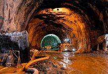 Interior del Túnel de Oriente