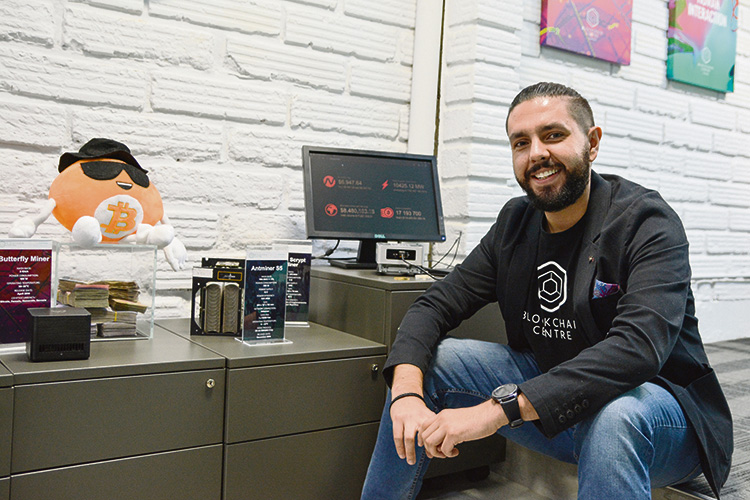 Felipe Cano, de Blockchain Centre