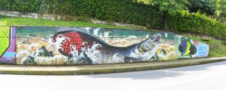 Mural en El Poblado