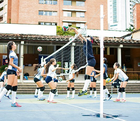 Deporte en los Colegios, talento es lo que sobra