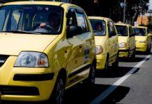 movilización de taxistas