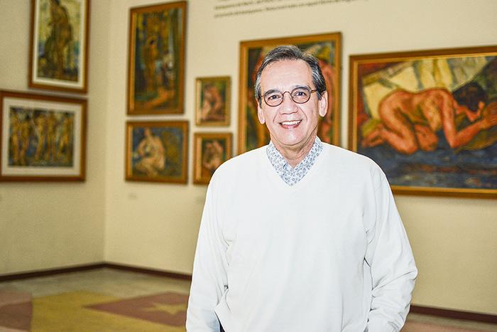 Álvaro Morales. Director museo Pedro Nel Gómez.