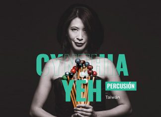 VI Concierto de la Temporada Filarmed 2019. Con la dirección de la brasileña Alexandra Arrieche y la presentación de la percusionista Cynthia Yeh.