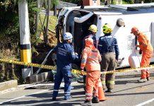 Perder la vida en un accidente de tránsito