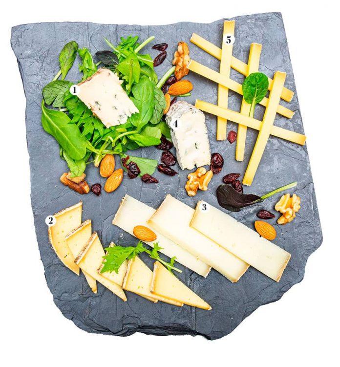 Guía de quesos franceses