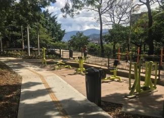 Parque de La Bailarina Remodelación