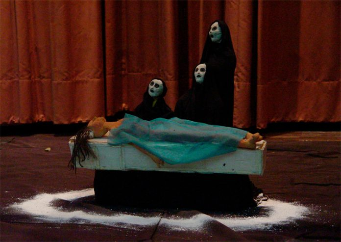 O Marinheiro en el Teatro Matacandelas