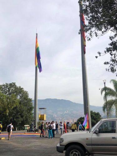 Bandera izada