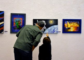 Imágenes del talento y de la creatividad infantil. Museo El Castillo.