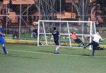 Futbolistas aficionados en El Poblado