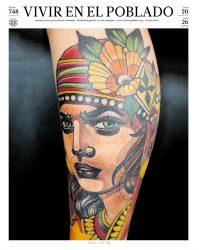 Portada ed 748 - Artista : George Henao Título: Raíces y rasgos Año: 2018 Estilo:Tatuaje neotradicional