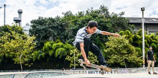 Primer Festival de Skateboarding. Viga Skatepark