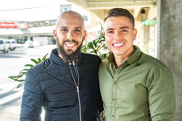 Diego se desempeña como ingeniero y Michael realiza estudios en ciencia política que complementa con su título en el Seminario Rabínico Latinoamericano.