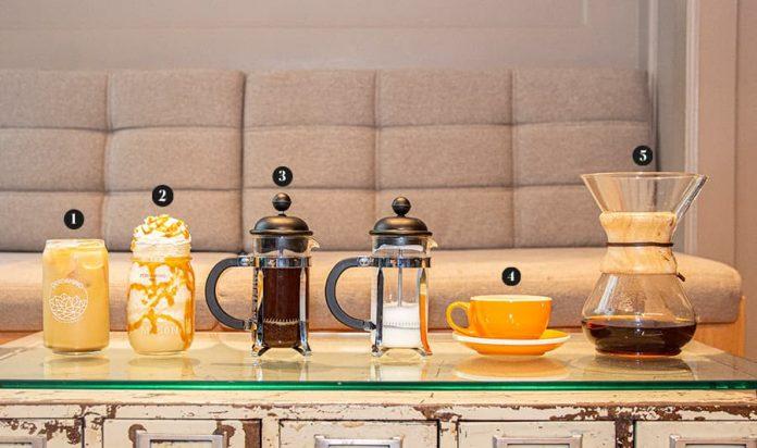 Cinco formas de tomarse un café