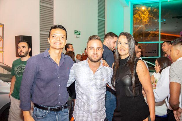 Julián David Mosquera, Juan Rodrigo Zuluaga y Carolina Lopera