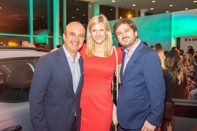 Ricardo Salazar, Viktoria Kaufmann y Mario Valdovinos