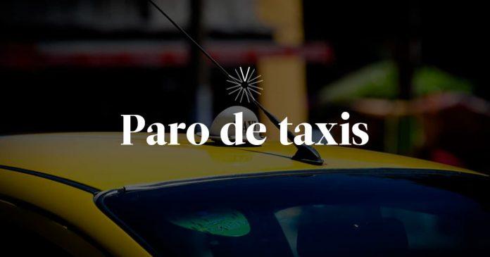 Taxistas bloquean vías de Medellín