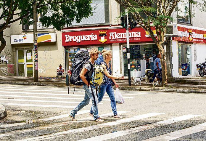 126 británicos habían venido a Medellín entre enero y mayo de este año.