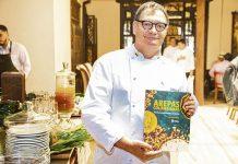 Libro Arepas Colombianas de Carlos Gaviria