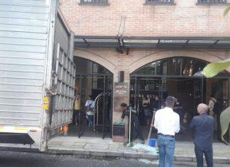 Accidente hotel art Parque Lleras