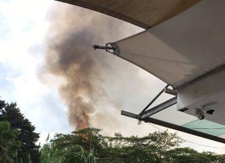 Incendio en Las Palmas