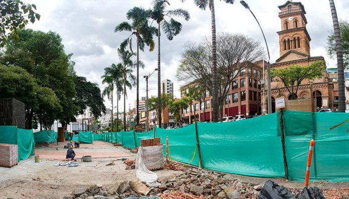 Obras del parque de El Poblado, en un 70%