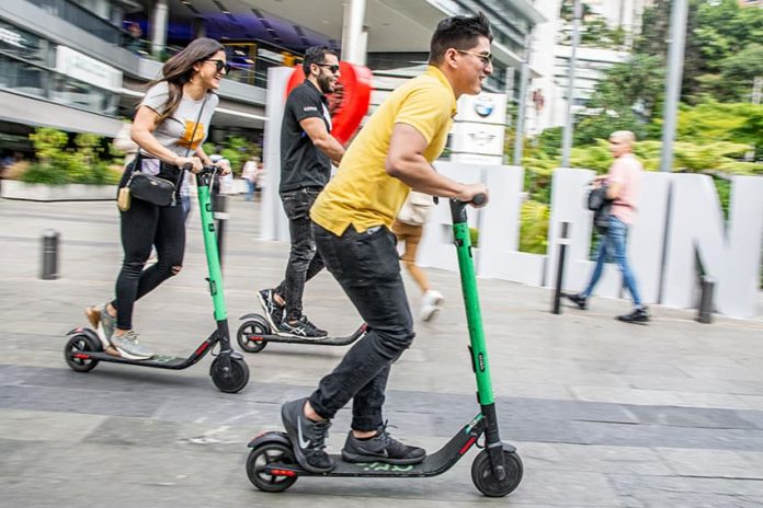 Los préstamos de patinetas en El Poblado crecen con rapidez