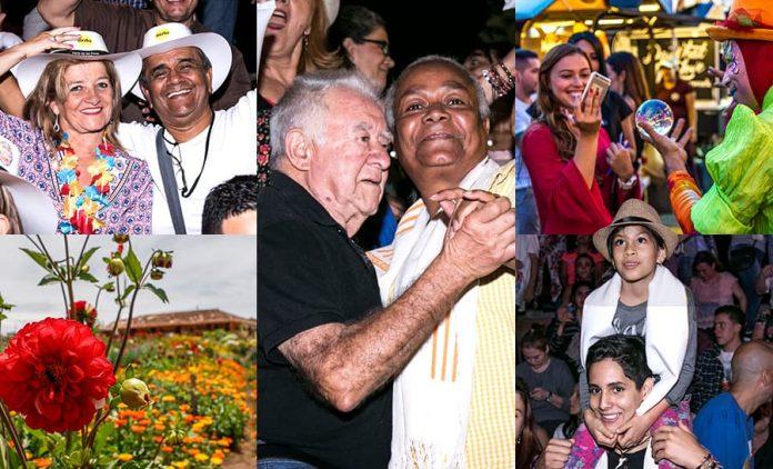 Comenzó la Feria de las Flores 2019