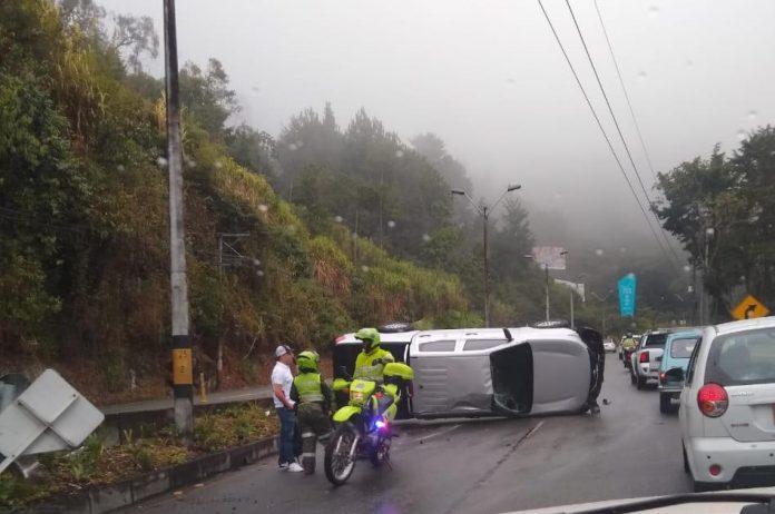 Accidente en Las Palmas