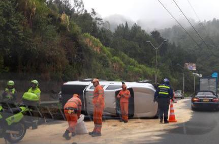 Accidente en Las Palmas, km 11