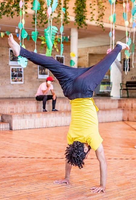 El capoeira en Medellín