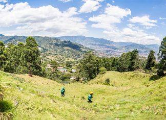 Esta será la vista que tendrán los estudiantes del colegio desde la nueva sede de la loma de El Escobero.