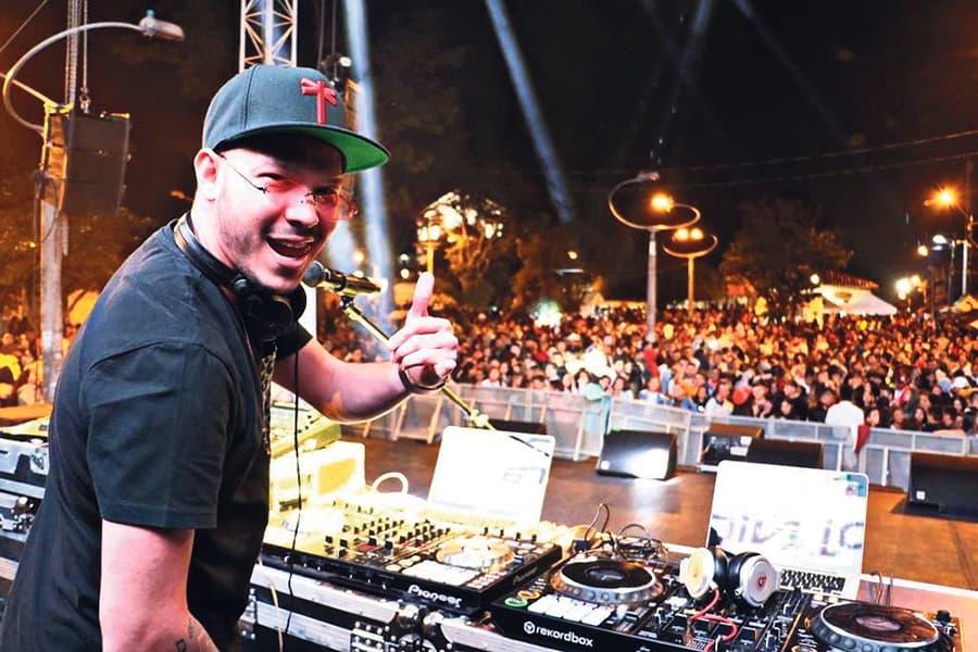 DJ Nico Rivera. Foto Instagram.