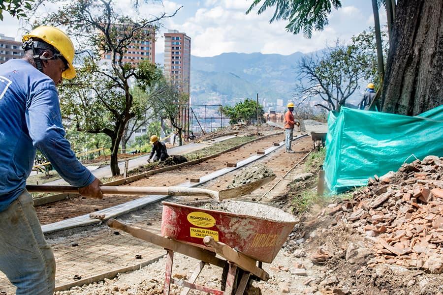 Obras  Parque Providencia