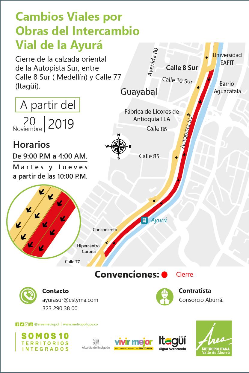 Intercambio Vial La Ayurá