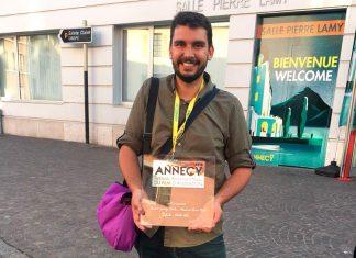 El director y animador Andrés Gómez Isaza