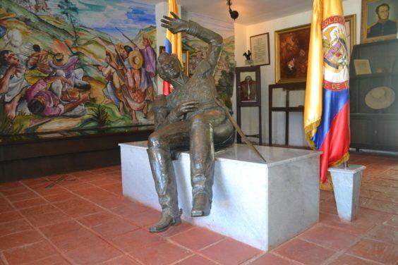 Casa Municipal José María Córdova de El Santuario (Foto tomada de www.deturismoporantioquia.com).