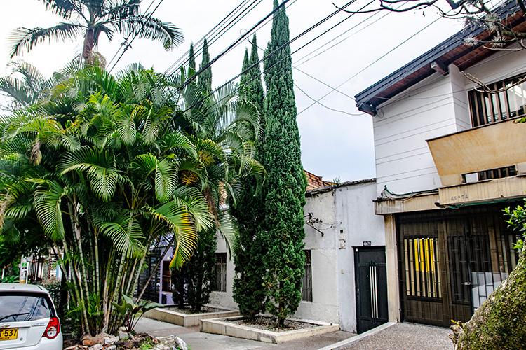 La casa de los pinos en Manila