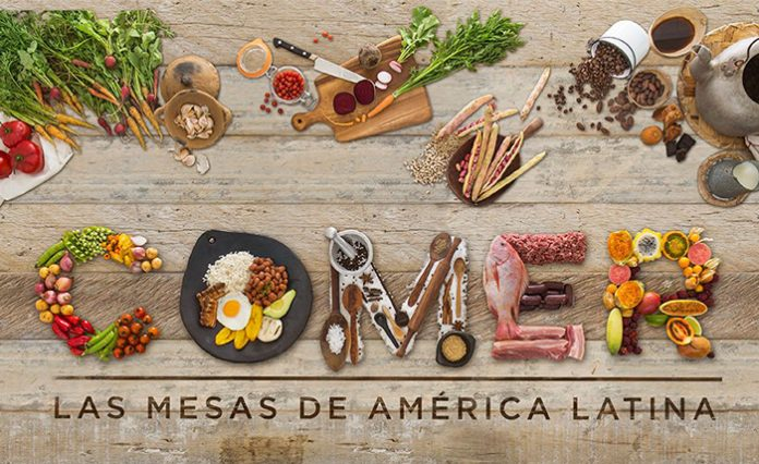 Exposición Comer, las mesas de América Latina