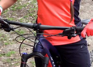 Bicicleta de montaña, Cómo frenar