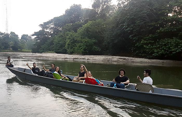 Recorrido de observadores en la reserva Costa Rica, en Estación Cocorná, en el Magdalena Medio antioqueño.