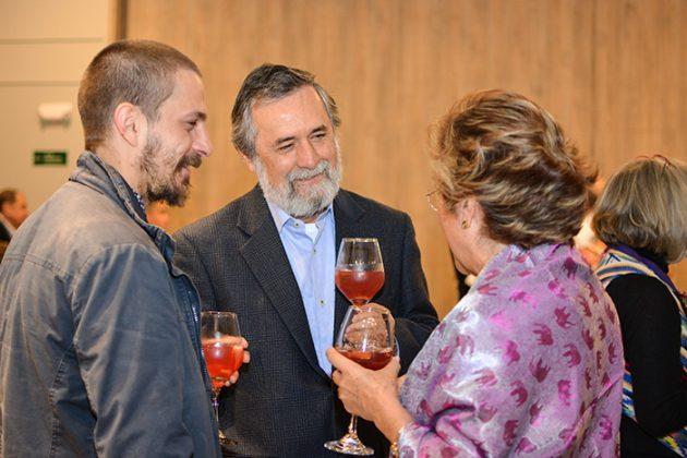 Daniel Suarez, Guillermo Sánchez y Martha Quiros