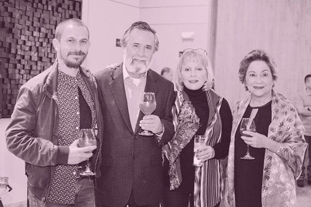 Daniel Suarez, Guillermo Sánchez, María gaviria y Martha Quiroz