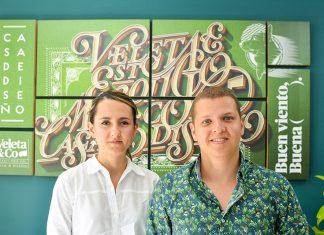 El lettering, Ana vélez y josé betancur