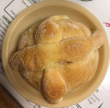 El pan de muertos es típico en México en el mes de noviembre