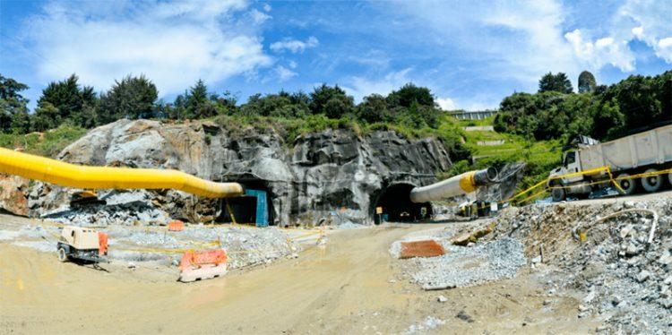 Entrada Túnel de Oriente