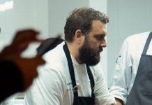 Fernando Rivarola, cocinero argentino de El Baqueano, estuvo en Medellín cocinando con Miguel Warren, de Barcal, cocina autóctona colombiana y argentina.