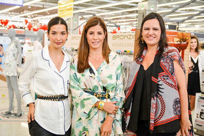 Irina Jaramillo, Renata Lozano y Karen Siegert Bronzini