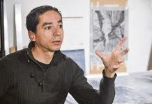 El artista plástico José Fernando Muñoz